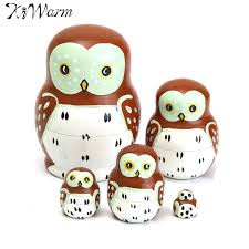 popular wooden owl ornaments buy cheap wooden owl ornaments lots