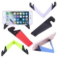 portable mobile phone standing desk cell phone holder support for