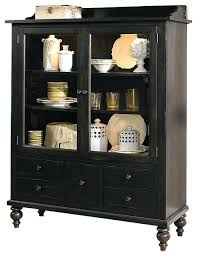 corner kitchen hutch cabinet black hutch cabinet display cabinet with solids and black cherry