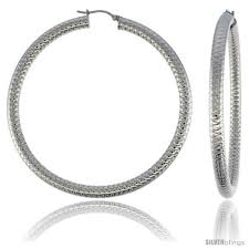 tight hoop earrings surgical steel hoop earrings 3 in and 50 similar items