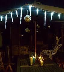Patio Umbrella Lights Led Landscape Lighting Kits Terrace Furniture Backyard Outdoor Rope