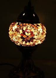 Mosaic Table Lamp Turkish Lamps Mosaic Lamp Turkish Tile Turkish Plate Turkish Ceramic