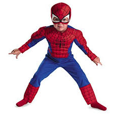 Marvel Halloween Costume Amazon Disguise Marvel Spider Man Toddler Muscle Costume
