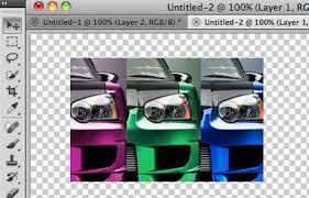 photoshop tutorial how to paint a car hongkiat