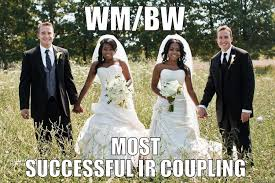 Successful Black Woman Meme - black women white men ir couples quickmeme