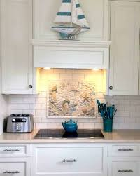 decorative tile inserts kitchen backsplash kitchen backsplashes map backsplash kitchen nautical ceramic