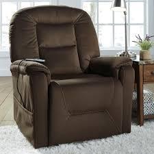 signature design by ashley samir power lift recliner with massage