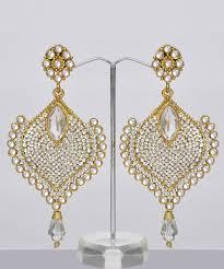 Designer Chandelier Earrings Bridal Chandelier Earrings India Shopping Shop For