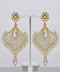Chandelier Earrings India Bridal Chandelier Earrings India Shopping Shop For