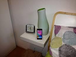 lack end table hack lack charging dock shelf for iphone ikea hackers ikea hackers