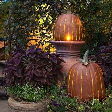 Halloween Decorations Outdoor Ideas by Outdoor Pumpkin Decorations Outside Halloween Decor Halloween Tree