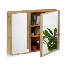 Holz Im Bad Spiegelschränke Amazon De