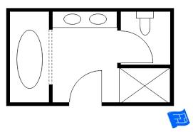 in suite floor plans master bathroom floor plans