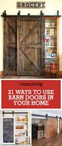 barn doors u2014 ways to use a barn door