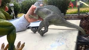 t rex vs spinosaurus part 1 dinosaur fight tyrannosaurus