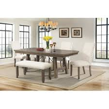 Dining Room Sets With Fabric Chairs by Kitchen U0026 Dining Benches You U0027ll Love Wayfair