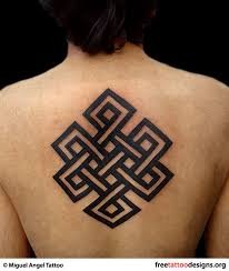 serenity endless knot tattoo design by pat fish