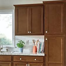 Shop Kitchen Cabinetry At Lowescom - Brown cabinets kitchen