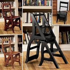 heja cool ladder chair step stool plans