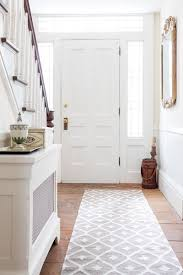 Modern Rug Runners For Hallways Uncategorized Entryway Runner Within Viewing Photos Of
