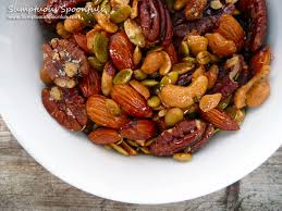 christmas nuts italian rosemary garlic spiced nuts sumptuous spoonfuls