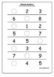 missing numbers worksheets downloadable worksheets play