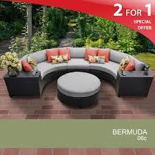 Wicker Patio Furniture Sets - tk classics bermuda06cvar bermuda 6 piece outdoor wicker patio