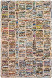 flooring u0026 rug safavieh multicolored cotton rugs for modern