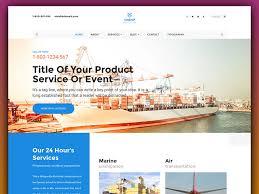 unship free trucking transportation u0026 logistics html template
