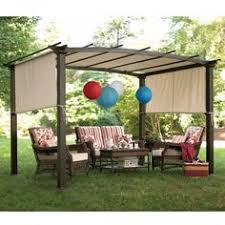 How To Build A Simple Pergola by Creating Shade And Privacy With Pergola Curtains Backyard