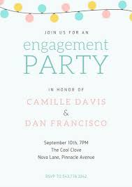 party invitation customize 102 engagement party invitation templates online canva