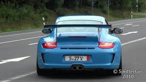 paul walker blue porsche mexico blue porsche 997 gt3 rs mk2 sound accelerations 1080p hd
