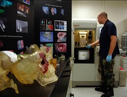 stereolithography helps rebuild jaw of wounded warrior u003e 59th