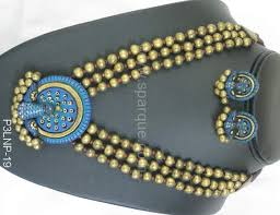 terracotta jewelry handmade from clay terracotta jewellery