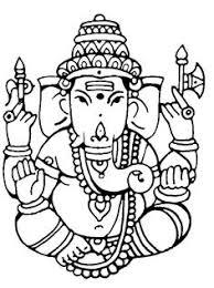 ganesh drawing ganesha clip art coloring book ganesha clip art
