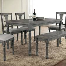 wooden dining room table and chairs gray dining room furniture large rough trestle extension dining