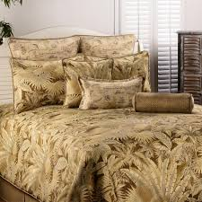 caribbean coffee tropical bedding sets cabin place