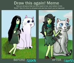 Adventure Time Meme - draw this again meme shoko adventure time by bulbasaur22 on deviantart