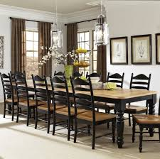 hillside village rectangular extra long dining table by intercon