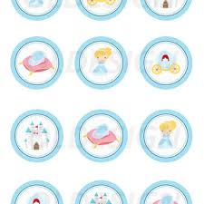 cinderella cupcake toppers mickey mouse stickers cupcake topper from oldesign s