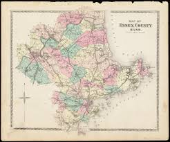 Massachusetts Counties Map by Map Of Essex County Mass