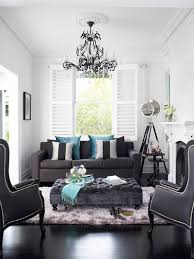 black and gray living room dark gray ottoman contemporary living room oliver interiors