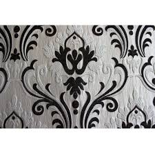 ivory n black chenille damask upholstery fabric curtain panels