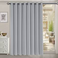 Curtains For Sliding Door Decorating Ultimate Blackout Grommet Patio Panel Of Decorating