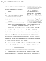 Civil Cover Sheet Federal by Verified Motion To Disqualify Circuit Judge Ann Melinda Craggs