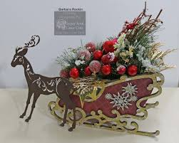 gypsy soul laser cuts santa u0027s sleigh home decor