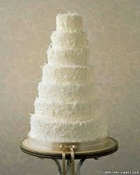 wedding cake buttercream buttercream cakes from real weddings martha stewart weddings