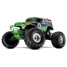 monster truck rc racing traxxas 3604a grave digger 2 4ghz electric 2wd 1 10 scale rc