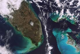 Satellite Map Of Florida by Earth Snapshot U2022 Miami