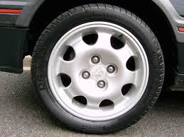 peugeot 205 gti 1 9l alloy wheels peugeot 205 gti 1 9l phase 1